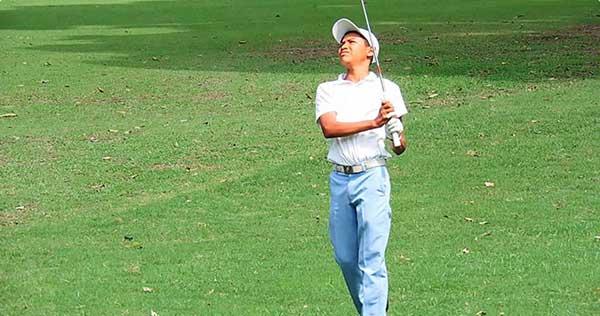 Un joven indígena rompe los estereotipos del golf en Venezuela | Foto cortesía