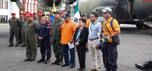 Venezuela envía ayuda a México | Foto: Néstor Reverol Twitter