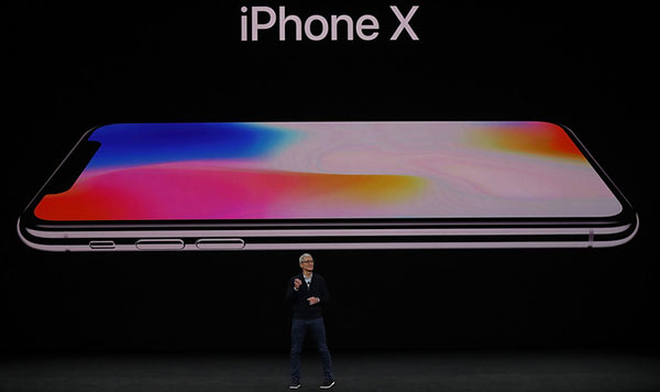Apple presenta sus iPhone 8, iPhone 8 Plus y iPhone X | Foto: AFP