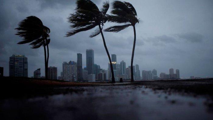 Huracán Irma en Florida   Foto: Twitter