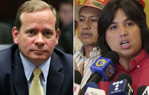 Fidel Madroñero presentó denuncia ante el MP para inhabilitación de Juan Pablo Guanipa | Composición: NotiTotal
