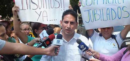 Presidente del Colegio de Enfermeros de Carabobo, Julio García | Foto: El Cooperante