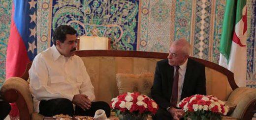 Nicolás Maduro en Argelia | Foto: @PresidencialVen
