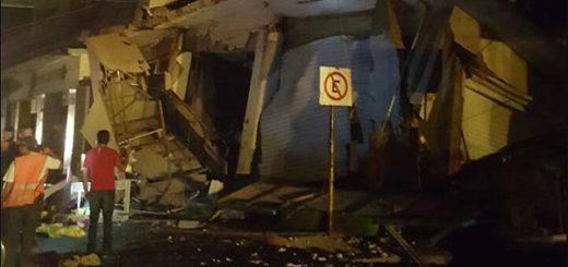 Terremoto en México   Foto: Twitter
