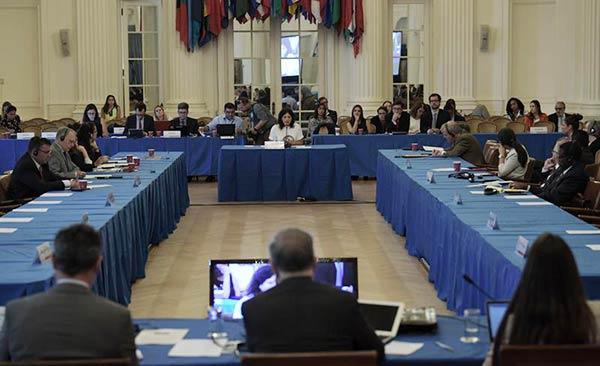 Audiencia de la OEA | Foto: EFE