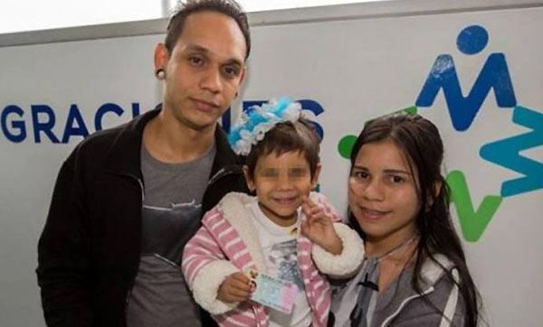 Familia venezolana en Perú   Foto: El Nacional