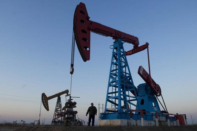 Plataforma petrolífera de Gudong en Dongying (China) | EFE