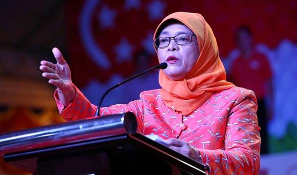 Halimah Yacob, presidenta de Singapur | Foto: EFE