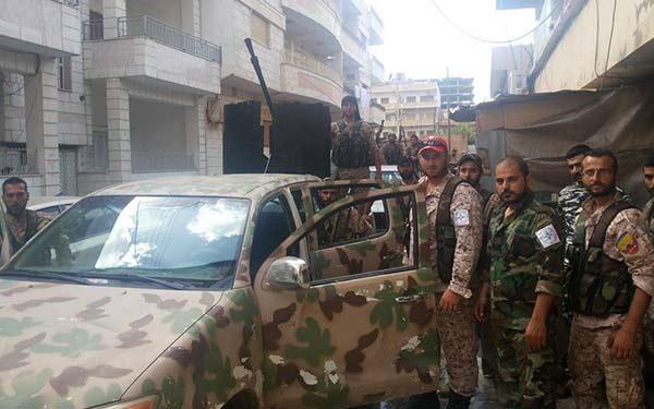 Fuerzas de Siria Democrática (FSD)   Foto: El Nacional