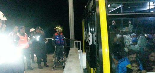 Turistas atrapados en el Teleférico de Mérida | Foto: Twitter