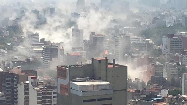 Terremoto de México   Foto: EFE
