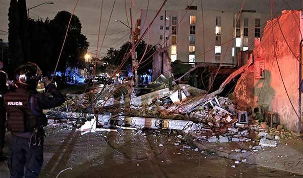 Cifra oficial de muertos por terremoto de 8,2 grados en México es de 96 | Foto: Twitter