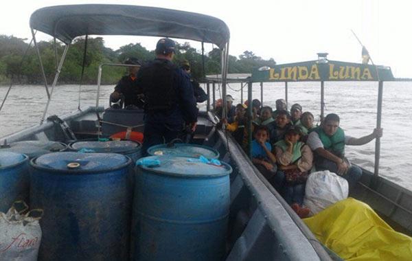 venezolanos-en-río-Meta
