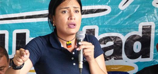 Gobernadora del estado Táchira, Laidy Gómez | Foto: Cortesía