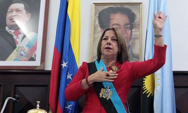 Magdely Valbuena será designada hoy como gobernadora encargada del Zulia   Foto: Cortesía