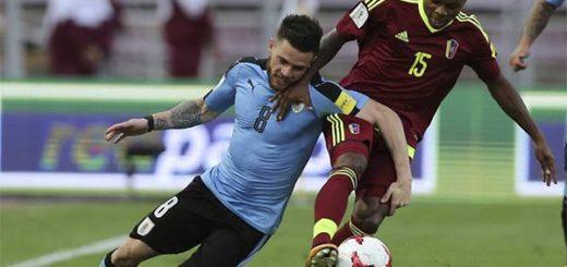 Venezuela empató y alargó el pase de Uruguay al Mundial Rusia 2018 | Foto: Cortesía