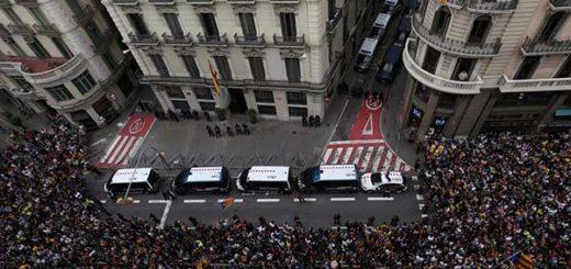 EN FOTOS: Huelga general en Cataluña en rechazo a la actuación policial durante referéndum | Reuters