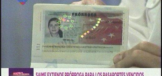 Venezolanos con pasaportes con plazo a vencerse en 6 meses pueden solicitar prórroga | Foto: Cortesía