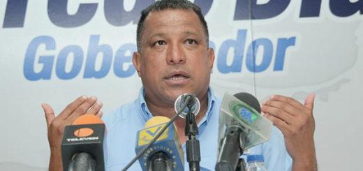 Gobernador del estado Nueva Esparta, Alfredo Díaz | Foto cortesía