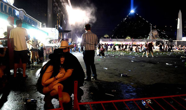 Masacre de Las Vegas    Foto: AFP