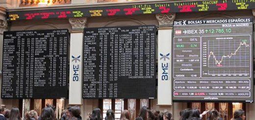 Bolsa de Madrid | Foto referencial