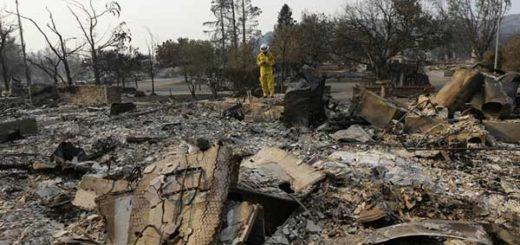 Incendio en California | Foto: EFE