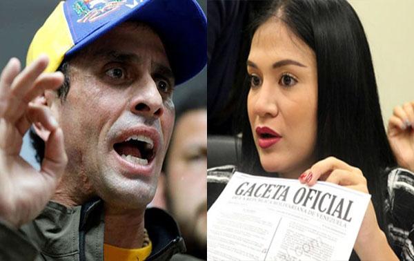 Henrique Capriles / Laidy Gómez | Composición
