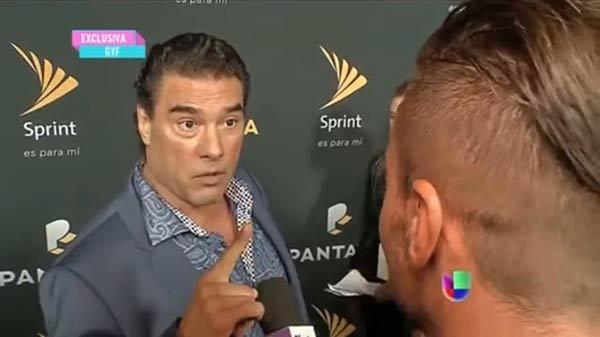 Eduardo Yáñez, actor mexicano | Foto: Captura de video