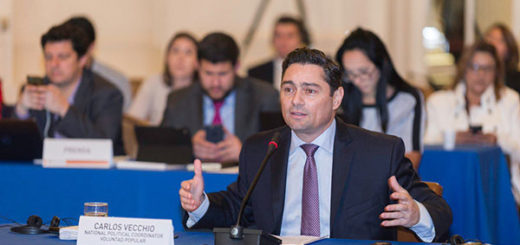 Vecchio denuncia en la OEA persecución por parte del Gobierno venezolano | Foto: @OEA_oficial