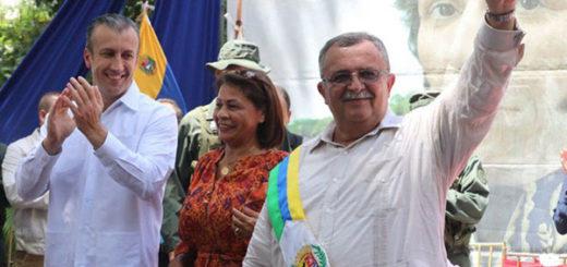 Ramón Carrizalez juramentado como gobernador de Apure | Foto: @MPPRIJP