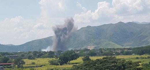 Revelan presunta causa de fuerte explosión registrada en Cavim | Foto cortesía