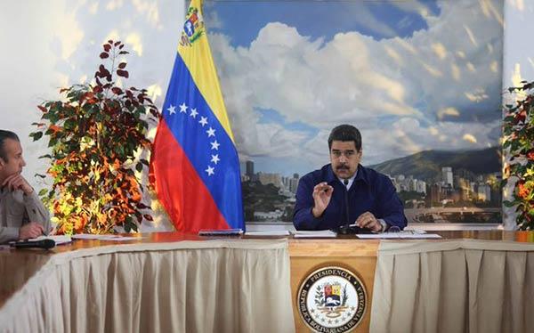 """Maduro denuncia plan para """"atentar"""" contra los servicios público en el país   Foto: @Dpresidencia"""