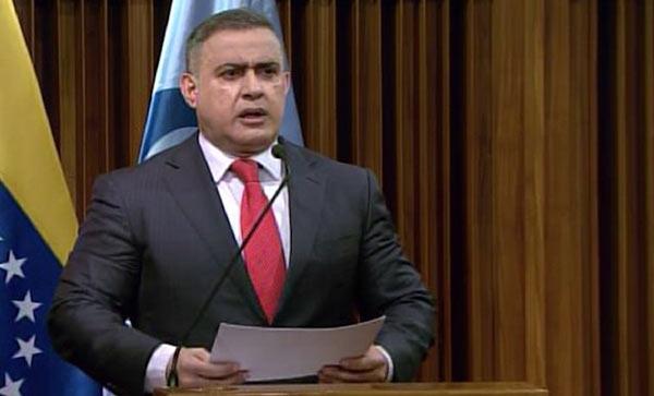 Tarek William Saab, Fiscal General designado por la ANC   Foto: Captura