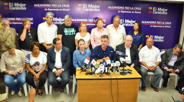 Alejandro Feo La Cruz, durante rueda de prensa | Foto: Twitter
