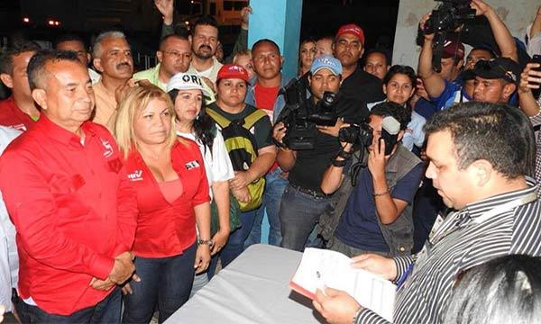 CNE proclamó a medianoche a Justo Noguera como gobernador de Bolívar | Foto: Twitter