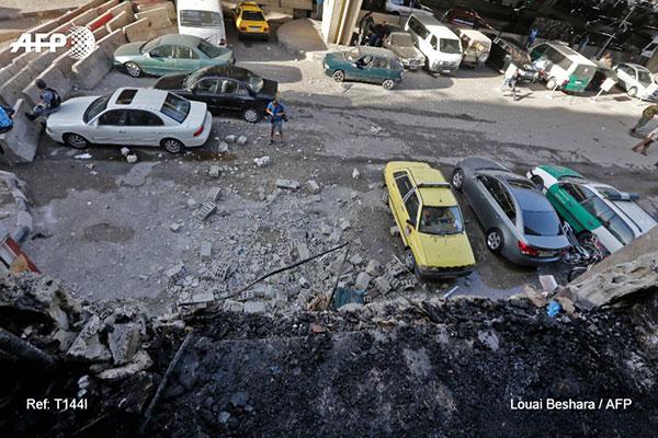 Al menos 11 muertos dejó un atentado terrorista en Damasco   Foto: AFP