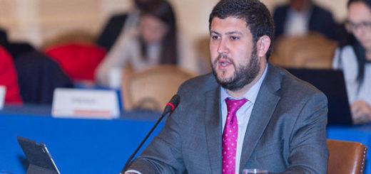 Smolansky expuso violación de DD HH en Venezuela ante la OEA | Foto: @OEA_oficial