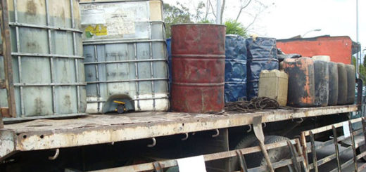 Incautaron más de 11.000 litros de diesel venezolano de contrabando | Foto:  Eleonora Delgado / El Nacional