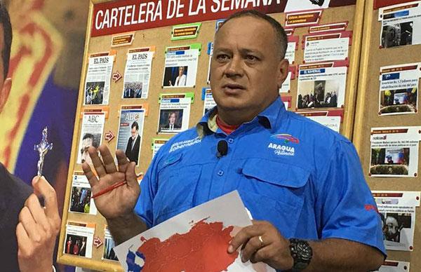 Diosdado Cabello: PJ, VP y AD inscribieron candidatos para elecciones | Foto: @ConElMazoDando