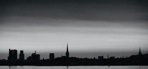 Lluvia negra en Estonia |Foto cortesía