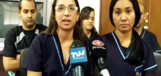 Estudiantes detenidas por fotografiar a parturientas en IVSS de Barquisimeto | Foto: El Impulso