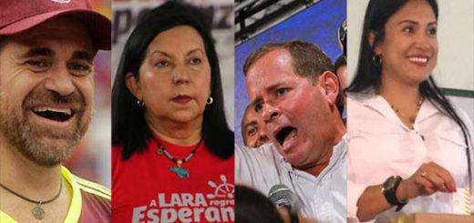 Gobernadores electos en los comicios regionales | Composición