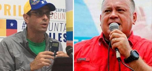 Diosdado acusa a Capriles de desviar recursos de Miranda a Primero Justicia | Composición