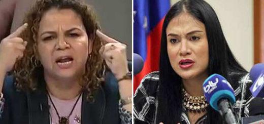 Iris Varela pone en duda nacionalidad de Laidy Gómez | Composición Notitotal