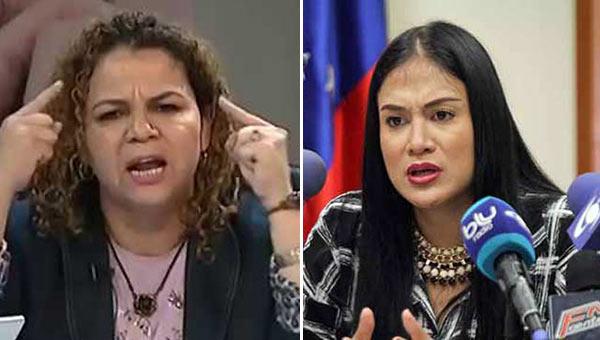 Iris Varela pone en duda nacionalidad de Laidy Gómez   Composición Notitotal