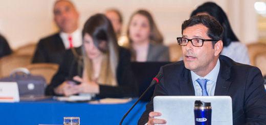 Isaías Medina denunció ante la OEA que Maduro ha criminalizado la salud | Foto: @OEA_oficial