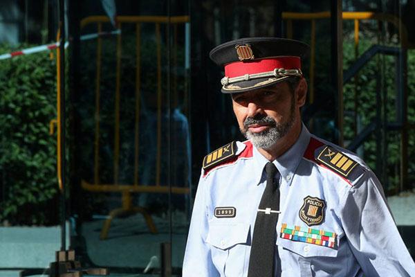 Jefe de policía y separatistas catalanes quedan libres tras declarar por sedición | Foto: Reuters