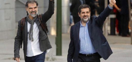 A prisión dos líderes separatistas catalanes por presunta sedición | Foto: EFE