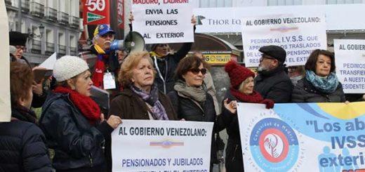 Senado español pide ayudar a venezolanos que no reciben pago de pensión desde hace dos años   Foto: Cortesía