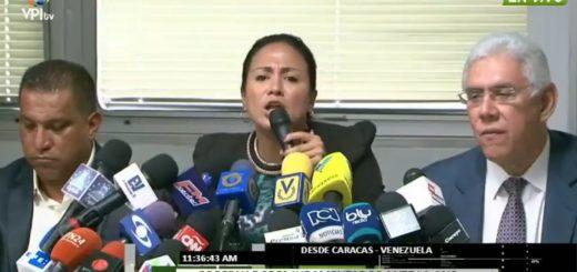 Gobernadores de AD ofrecen rueda de prensa | Captura de video